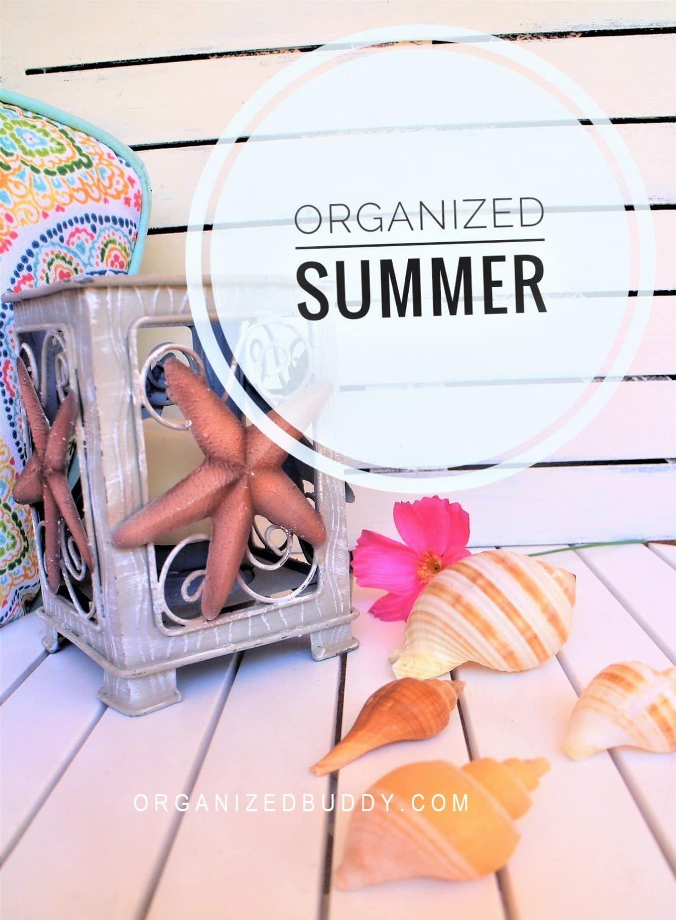 How to Have an Organized Summer with the Kids