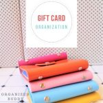 gift card organization ideas
