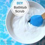 diy bathtub scrub